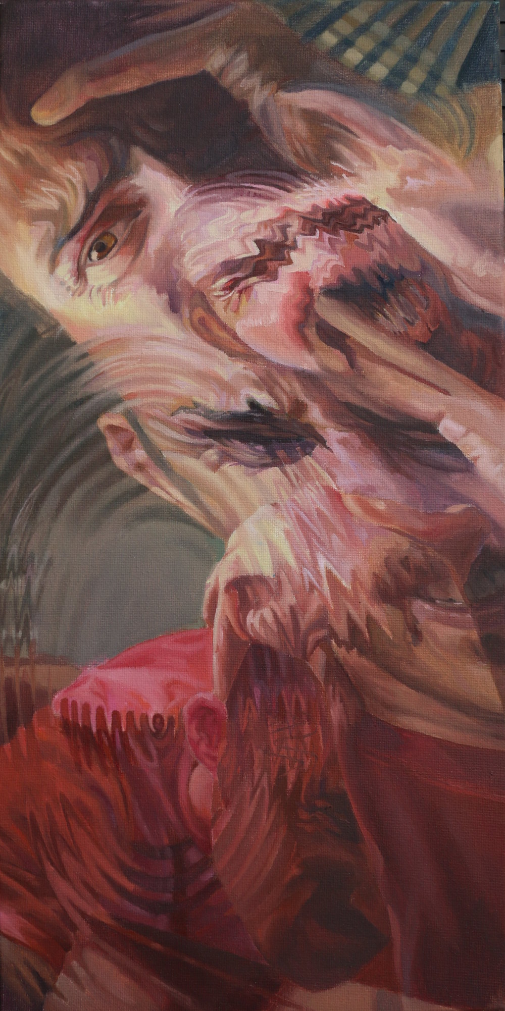 Migraine Madness 2 Surreal Oil Painting