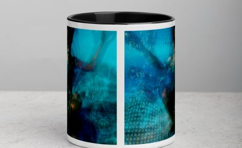 """Deep Within"" Mug with Color Inside"