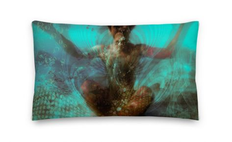 """Deep Within"" Premium Pillow"