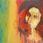 Spray Painting of Bob Marley