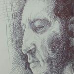 Pen Sketch of Clive Owen