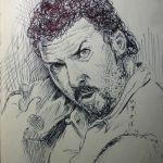Pen Sketch of Danny McBride