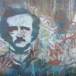 Spray Painting of Edgar Allan Poe