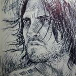 Pen Sketch of Jake Gylenhaal