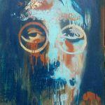 John Lennon Spray Painting