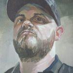 Oil Painting Portrait of Nick Sanchez